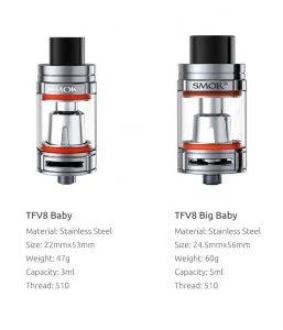 Tfv8 Baby and big baby